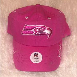 Seattle Seahawks Pink Team NFL Hat💕
